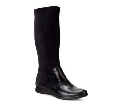 9bda80ade Bota mujer goretex licra negra - Botas y botines - Mujer