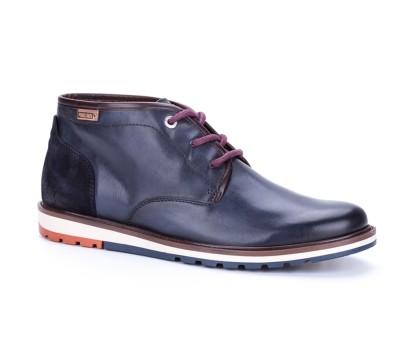 Bota baja berna piel blue cordones - Botas y botines - Hombre ... 6e557c0c02cd9