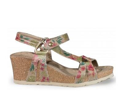 Sandalias de planas de mujer Panama Jack en napa de c... TVqnH8HDie