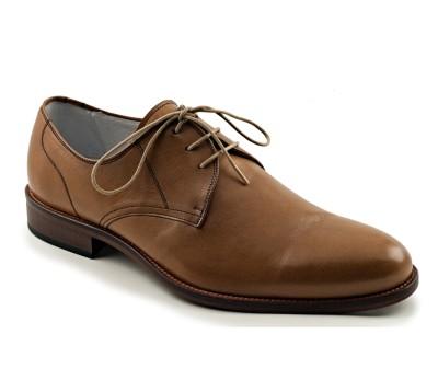 Zapato blucher hombre piel cuero