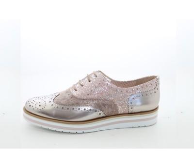 ac439aa7f7ae6 Zapato blucher cava taupe piso volumen - Zapatos de fiesta - Mujer ...