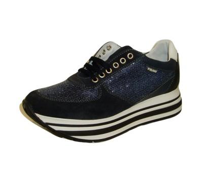 Zapato Frau 45u4 Pailletes Azul 40 Azul