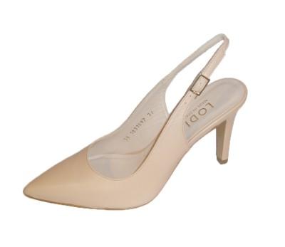 Zapato chanelita mujer piel nude