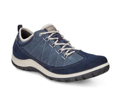 Zapato deportivo mujer piel combinada marino