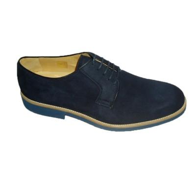 Zapato Piso Ante Bicolor Cordones Hombre Blucher Ocean vxvwzAa