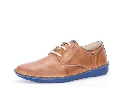 Hombre Blucher Zapato Brandyblue Cordones Piel nZwYYdqU