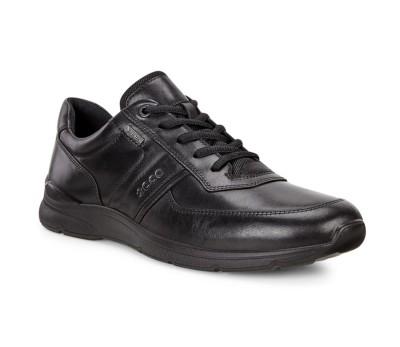 Zapato hombre piel negro gore-Tex cordones