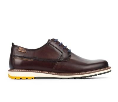 Zapato Berna hombre piel olmo cordones