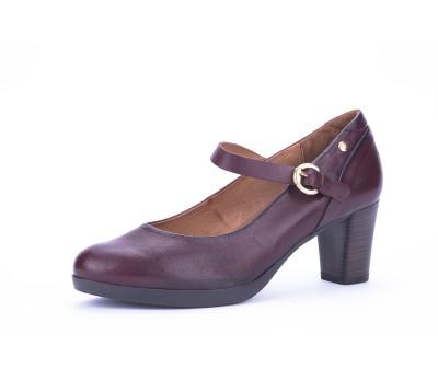 35c135f59dc2f Zapato merceditas mujer garnet tacón - Salón - Mujer