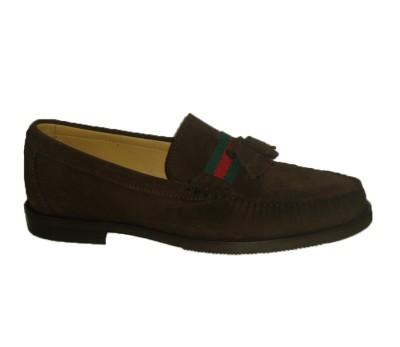cf4356b6c Mocasín hombre ante expreso cinta gucci - Zapatos de fiesta - Hombre ...