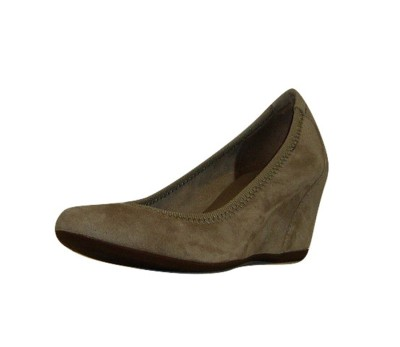 50% rebajado excepcional gama de estilos los más valorados Zapato mujer ante taupe cuña interna