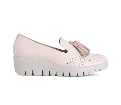 2119f8ef8094c Zapato mujer charol rosa palo borlas - Mocasines y Nauticos - Mujer ...