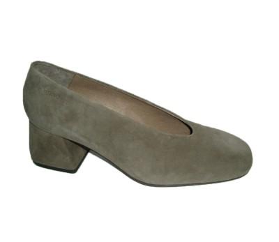753ef409dd Zapato salón mujer ante gris - Salón - Mujer | comprar zapatos online