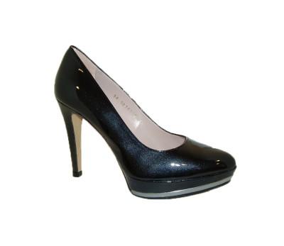 f78adec7568 Zapato salón mujer piel miro negro plataforma - Zapatos de fiesta ...