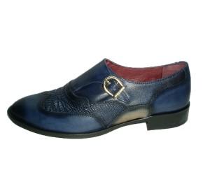 Zapato abotinado mujer piel lavatto pacific