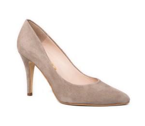 Zapato salón mujer piel ante África tacón