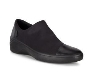 Zapato mujer piel/licra negro Gore-Tex