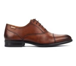 Zapato Bristol hombre piel cuero cordones