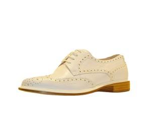 Zapato blucher mujer chester blanco