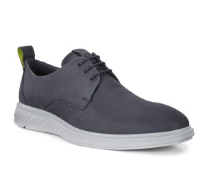 Zapato hombre nobuck azul marino cordones