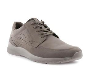 Zapato casual hombre nobuck grey cordones