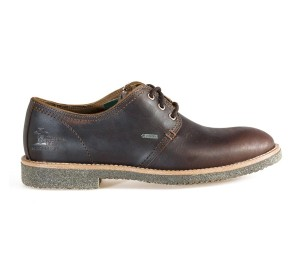 Zapato hombre napa grass castaño Gore-Tex