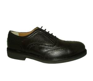 Zapato hombre reno negro pala vega cordones