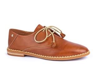 Merida Zapato cordones mujer piel brandy