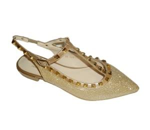"""Zapato """"Valentino"""" plano cava"""