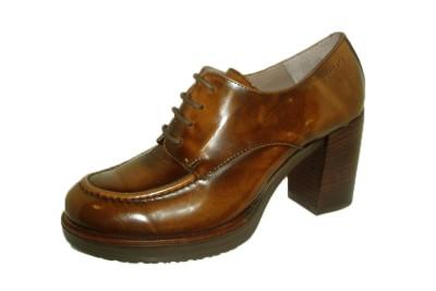 49314750c42 Zapato blucher mujer piel cuero brillo - Zapatos de tacón - Mujer | comprar  zapatos online