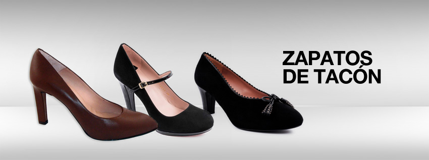 Zapato tacon mujer online